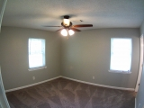 <h5>Master bedroom</h5><p>Nice sized Master bedroom with new ceiling fan</p>