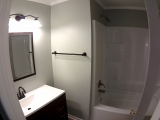 <h5>Hall Bath</h5><p>All new ... everything</p>