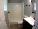 <h5>Master Bath</h5><p>New shower, Toilet and vanity</p>